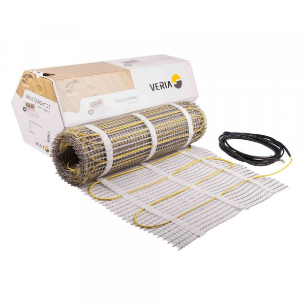 Мат нагревательный Veria Quickmat 0,5х2мх1м2 (189B0158) Картинка 12454