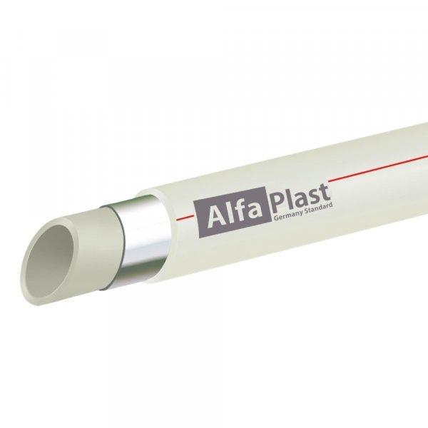 Труба PPR Alfa Plast PPR/AL/PPR армированная алюминием 63 Картинка 14226
