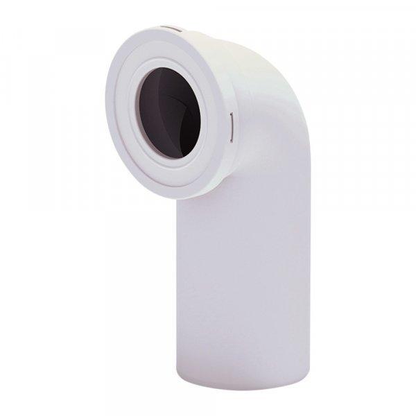 Отвод для унитаза ANI Plast W9220 угол 90˚ Картинка 15597