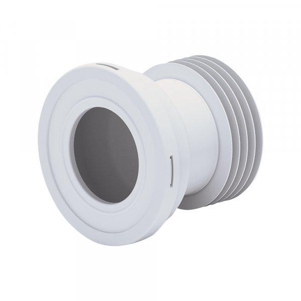 Отвод для унитаза ANI Plast W1218 прямой 125 мм Картинка 15765