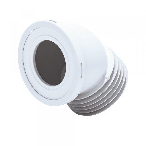 Отвод для унитаза ANI Plast W4228 угол 45˚ Картинка 15767