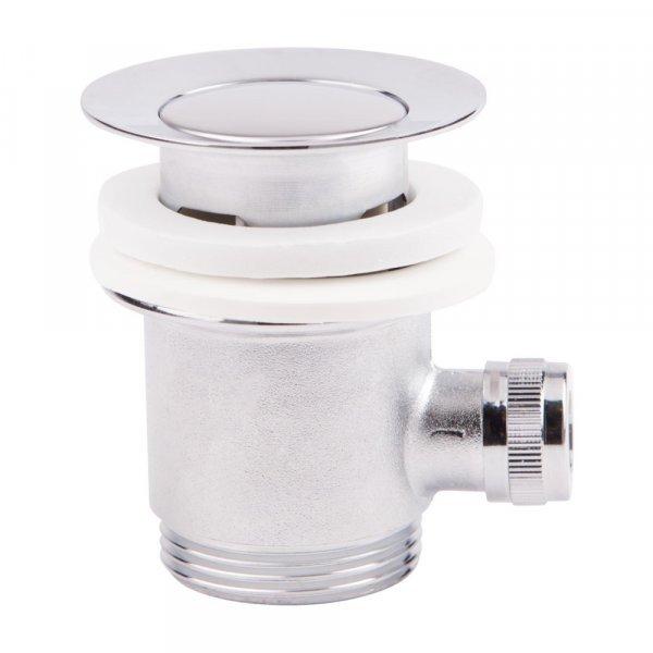 Донный клапан для раковины Qtap L02 с переливом Картинка 16508