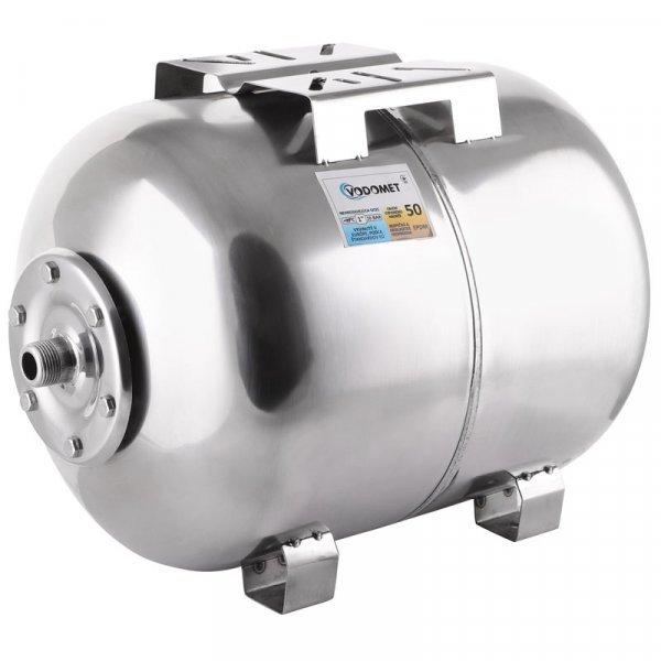Гидроаккумулятор VODOMET горизонт. 50л (корпус-нерж.сталь) (VO0027) Картинка VO0027