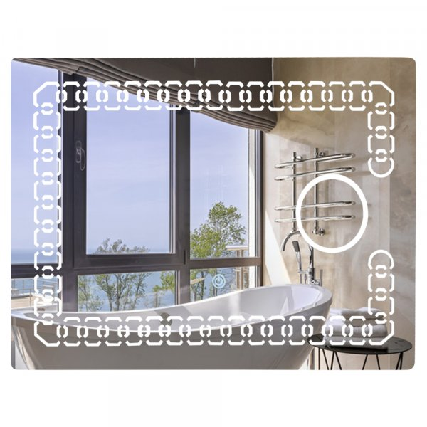Зеркало Lidz 140.08.02 700х500 Картинка 37460