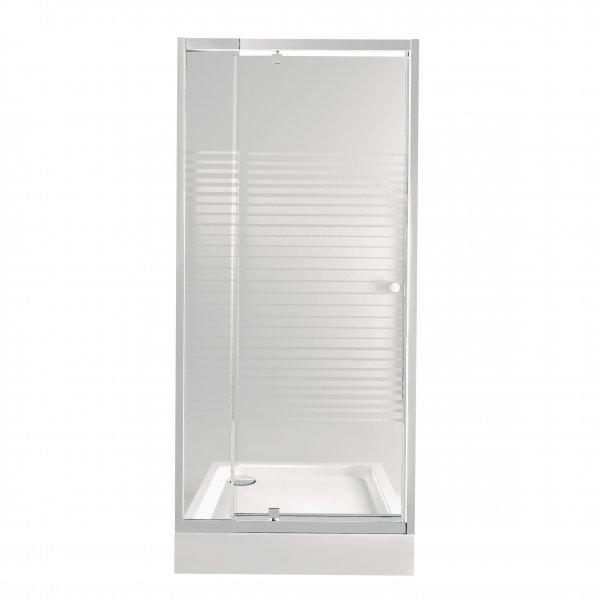 Набор Qtap дверь в нишу Pisces WHI208-9.CP5 + поддон Unisquare 308815 Картинка 37625