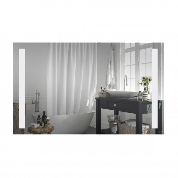 Зеркало Qtap Mideya 1000х600 с LED-подсветкой, Reverse QT20781403W Картинка 39979