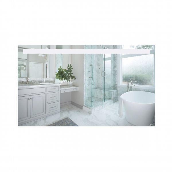 Зеркало Qtap Mideya 1200х700 с LED-подсветкой QT2078141470120W Картинка 39981