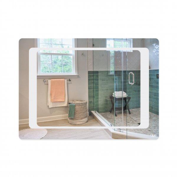 Зеркало Qtap Leo 500х700 с LED-подсветкой, Reverse QT117812086080W Картинка 39982