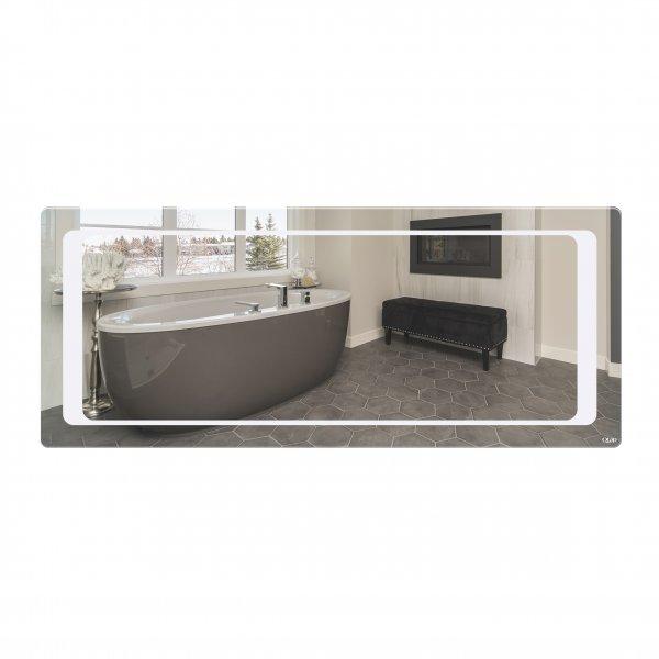 Зеркало Qtap Leo 1200х500 с LED-подсветкой QT117814276080W Картинка 39983