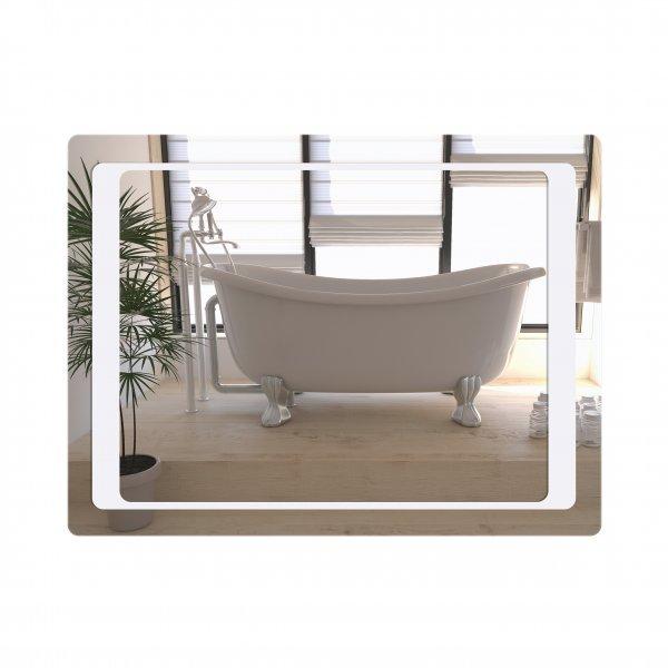 Зеркало Qtap Leo 600х800 с LED-подсветкой, Reverse QT1178120870100W Картинка 40050