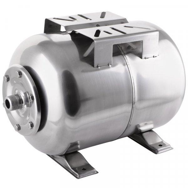 Гидроаккумулятор VODOMET горизонт. 24л (корпус-нерж.сталь) (VO0026) Картинка VO0026