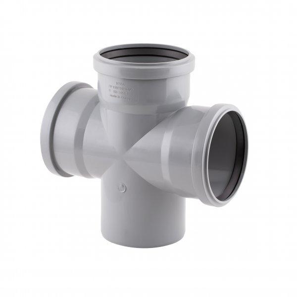 Крестовина канализационная TA Sewage 110, 90° Картинка 7148