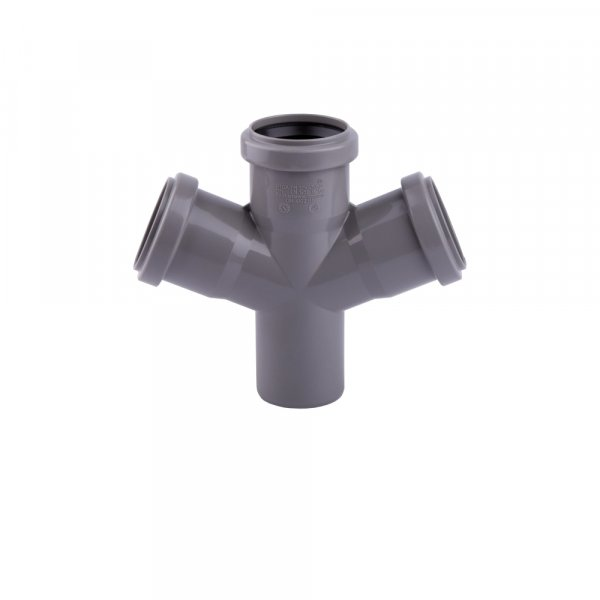 Крестовина канализационная TA Sewage 110, 45° Картинка 7149
