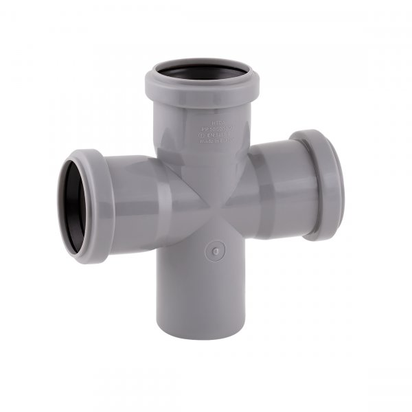 Крестовина канализационная TA Sewage 50, 90° Картинка 7154