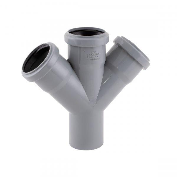 Крестовина канализационная TA Sewage 50, 45° Картинка 7155