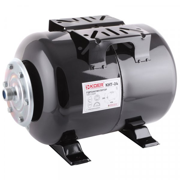 Гидроаккумулятор KOER KHT-24 (24л, корпус-сталь 1мм) (KB0008) Картинка KB0008