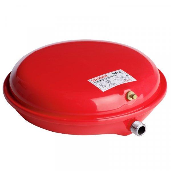 Бак расширительный для системы отопления (плоский) KOER BP6 6л. (KB0001) Картинка KB0001